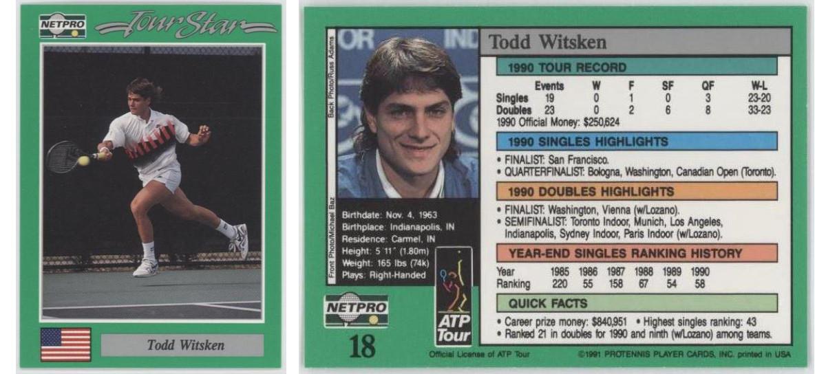 Rick Witsken NetPro Card