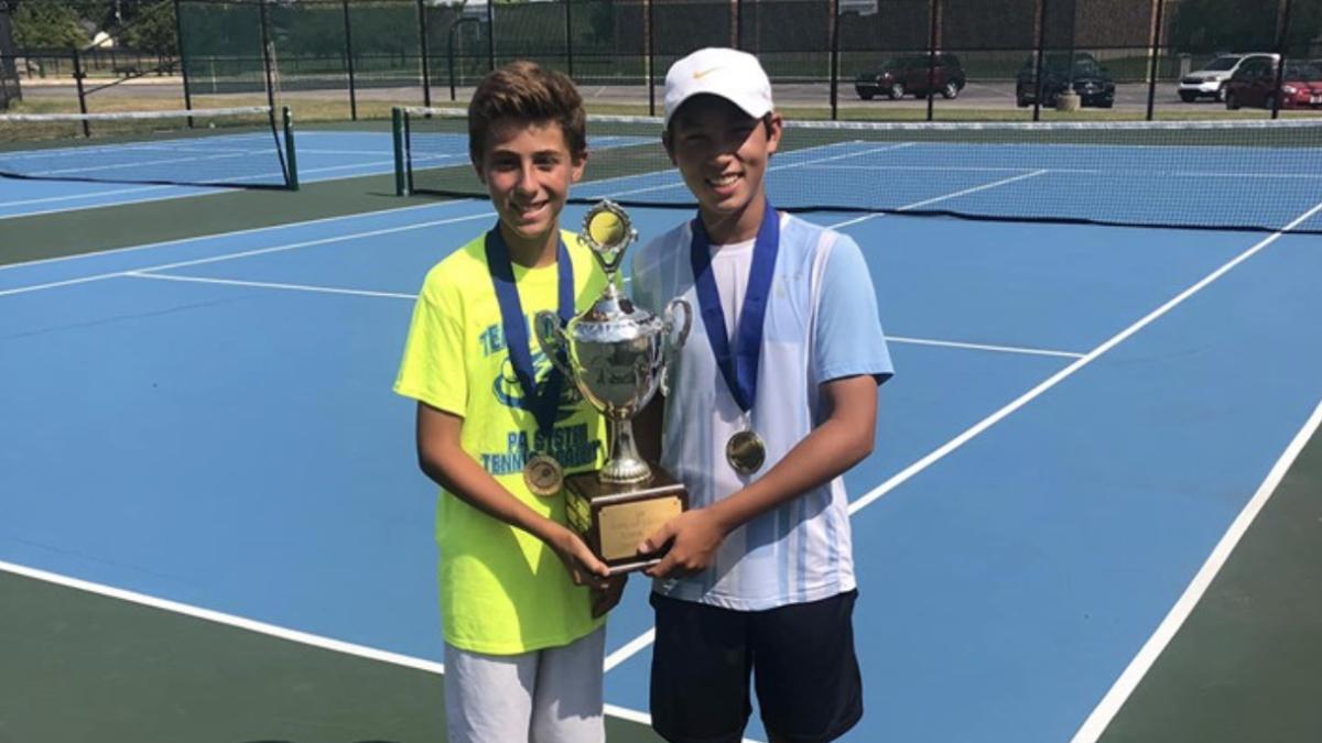Team Witsken Summer Open Doubles Champions