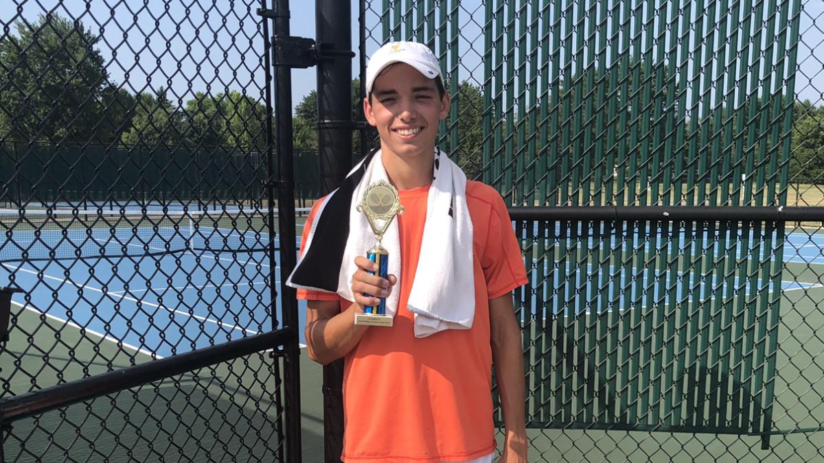 Team Witsken Summer Open Singles Champion
