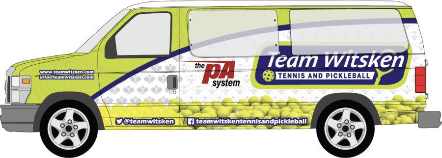 Team Witsken Tennis Bus